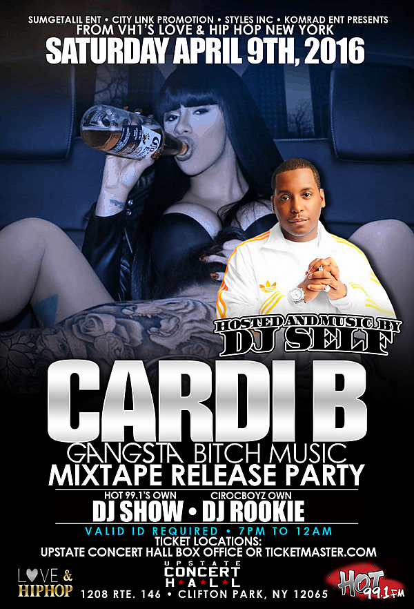 Cardi B Mixtape: Cardi B Mixtape Release Party At The Upstate Concert Hall