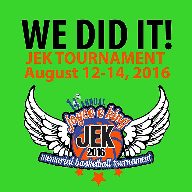 Joyce E King Memorial Basketball Tournament 2016 Flyer 2