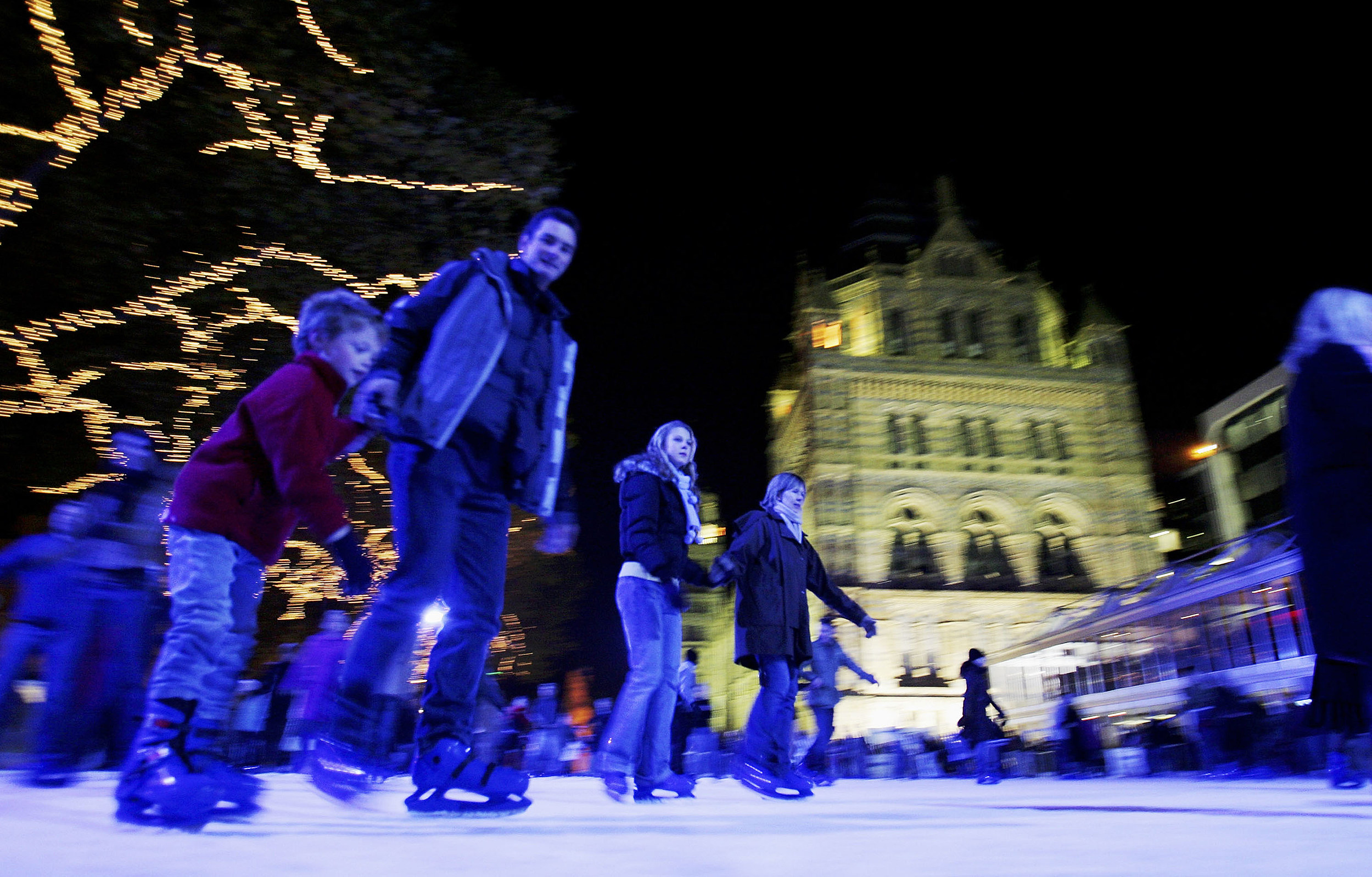Natural History Museum Ice Rink And Christmas Fair