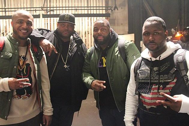 Hot 99.1 #TeamHOT DJs, L to R: DJ Supreme, DJ Biz, DJ Big Rob, DJ ShOw