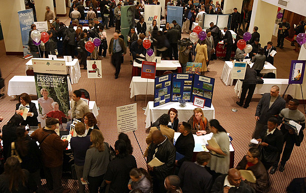 Career Fair Held In San Francisco