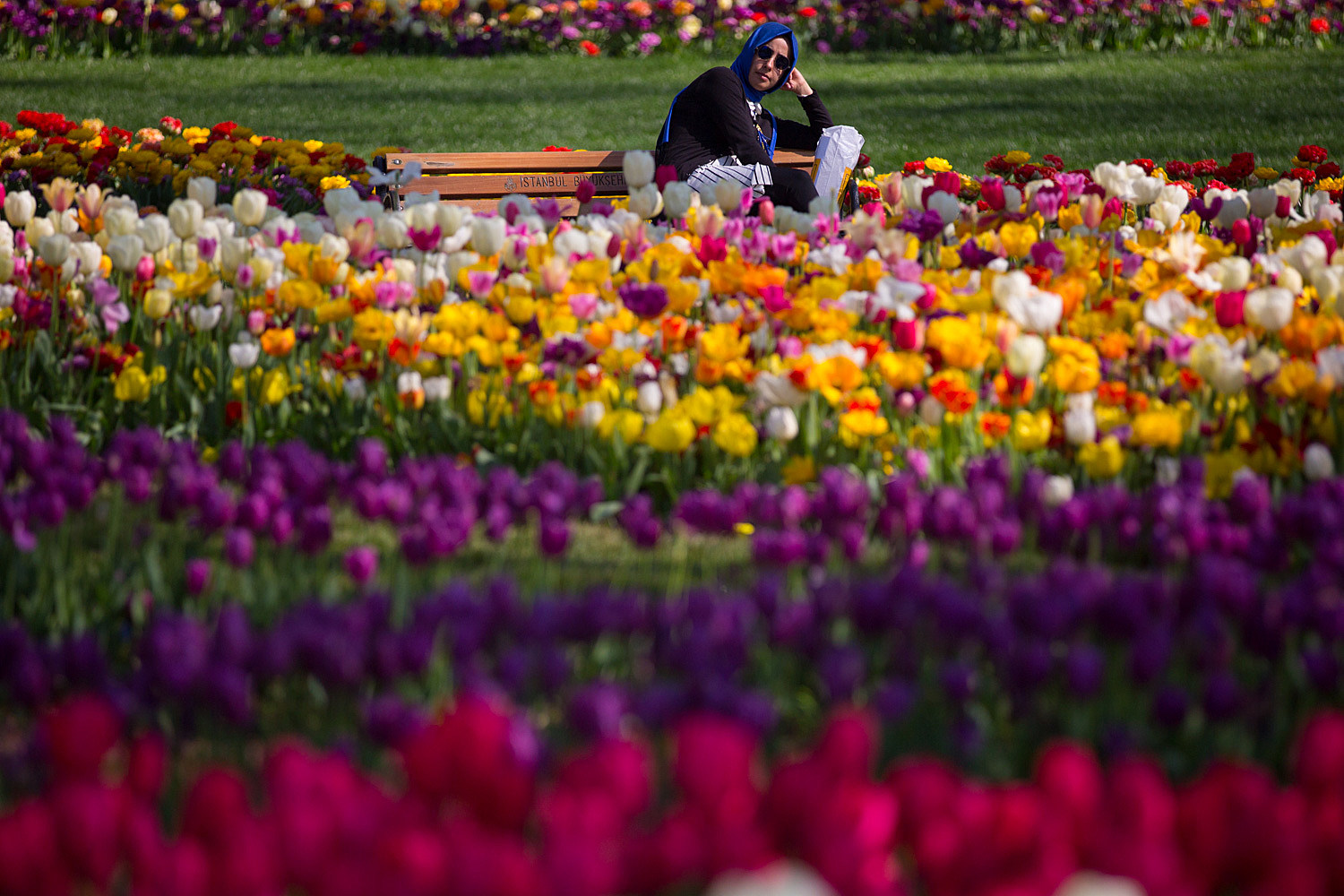 Istanbul Comes Alive With Colour During Its Annual Spring Tulip Festival