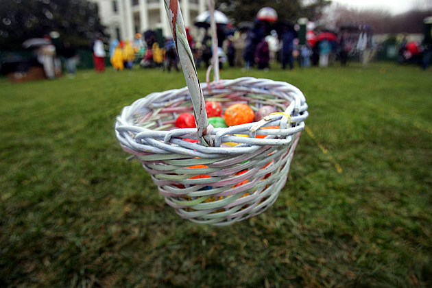 Children Participate In The Annual White House Easter Egg Roll