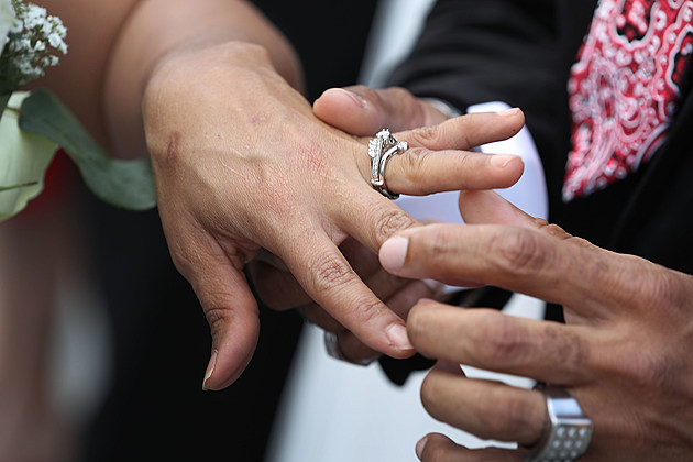 Mass Wedding Ceremony Held For 40 Couples In West Palm Beach
