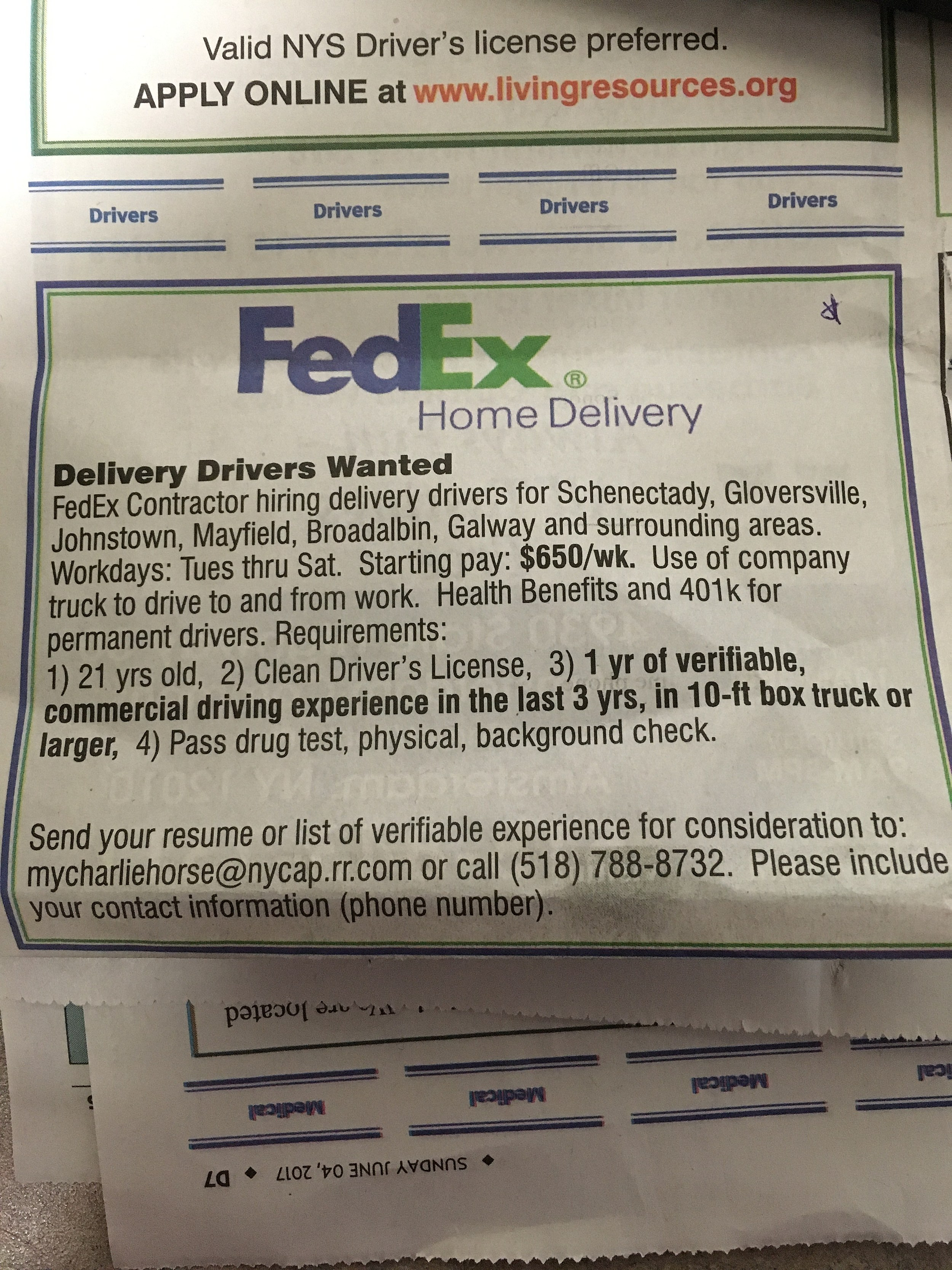 job fed ex